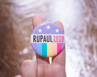 "RuPaul 2020 2.25"" Button"