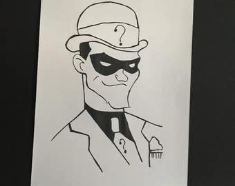 Riddler illustration