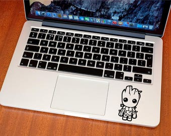 Baby Groot Sticker - Groot Decal - Macbook Stickers - Car Decals