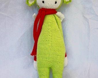 Dirk the Dragon Lalylala Crochet Doll