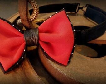 Bow tie woman, bow tie