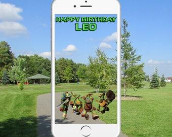 Ninja Turtles Snapchat Geofilter