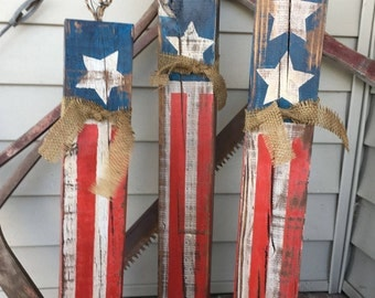 4th of July, Patriotic, Vintage, Americana, Giant Wood Fireworks