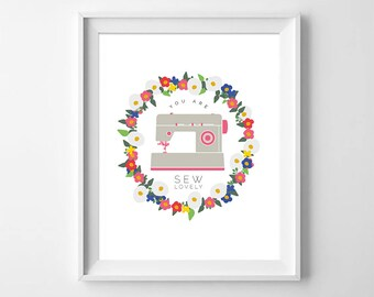 Mothers Day, Wall Art, You Are So Lovely, Digital Download Print, Mothers Day, Digital Art