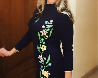 Dress crocheted Flowers