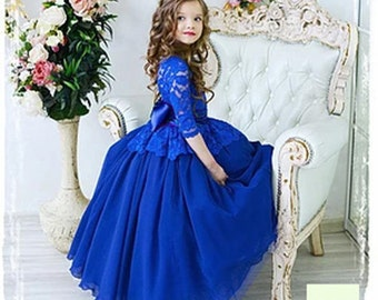 Vintage Ball Gown Flower Girl Dress