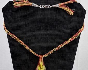 Rastafarian Frog Necklace