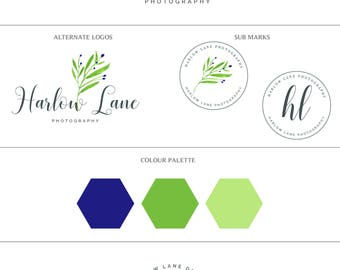 Mini business branding set-Premade business branding set