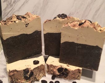 Coffee/Cappucino Handmade Cold Process Soap ON SALE NOW !!!!