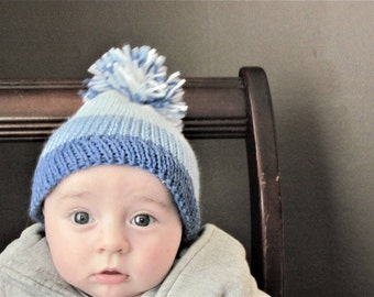 Classic Style Knitted Baby Hat