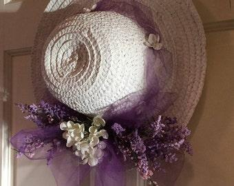 Spring/Easter Front Door Hat