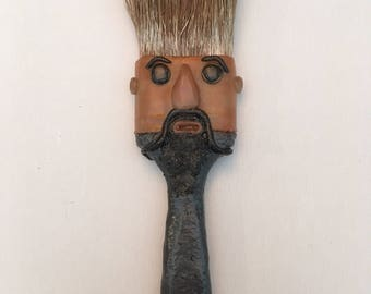 Fu Manchu Altered Paint Brush
