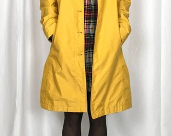 Yellow Lands End Spring Jacket