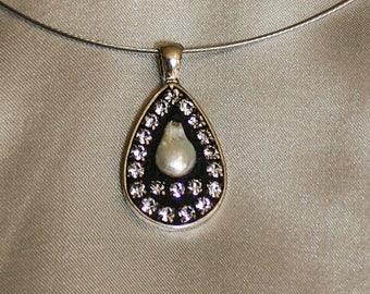 Unique Handmade Mosaic-Set Necklace