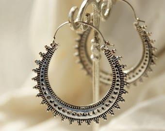 Ethnic earrings tribal earrings Gypsy jewelry Indian earrings Afgan earrings ethnic jewelry tribal jewelry silver earrings trendy earrings