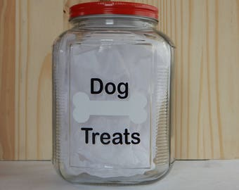 Dog Treat Jar, Large