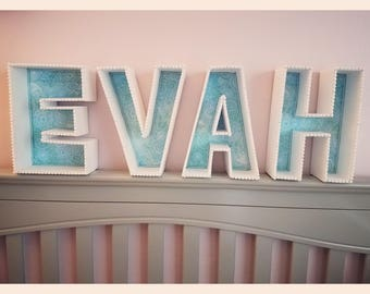 Personalized Letters: Name/Words Wall/Table Decor & Accents