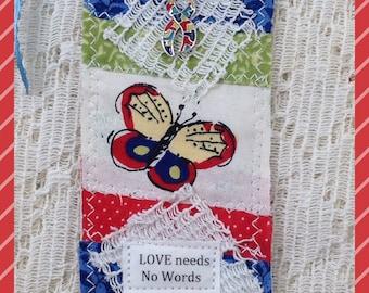 Autism Prayer Pocket Bookmark