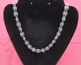 Steel Knot Necklace