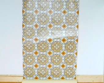 Vintage orange wallpaper wallpaper, kitsch, retro wallpaper wallpaper, wallpaper sixties and seventies wallpaper