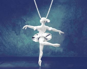 Ballerina Necklace Pendant