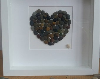 Pebble heart picture