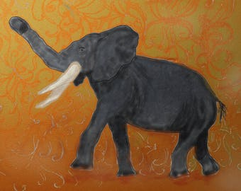Elephant Digital Painting