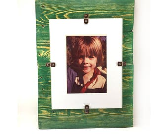 8x10 Custom Color Pallet Frame, Upcycled