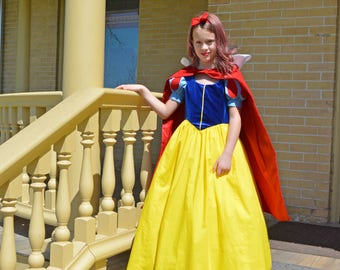 Snow White, Princess Costume Dress, Girls