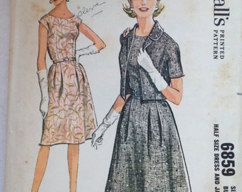 Vintage McCall's 6859 dress size 18.5