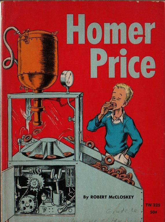 Homer Price - Robert McCloskey - 1962 - Vintage Kids Book