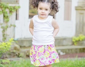 toddler girls skirt Fresh Picked skirt 2 T - 9 Y Boutique Childrens Clothing