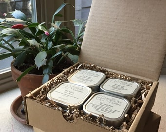 Inspiration Box - BE - Set of 4 Container Candles