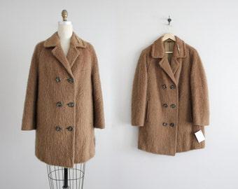 austrian mohair wool coat | 1950s wool coat | austrian coat