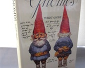 Gnomes by Wil Nuygen Illustrations by Rien Poortvliet - The Complete Forest Gnome Book- First US Edition Hardback 1977