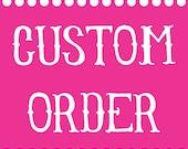 Custom Listing for Anthony