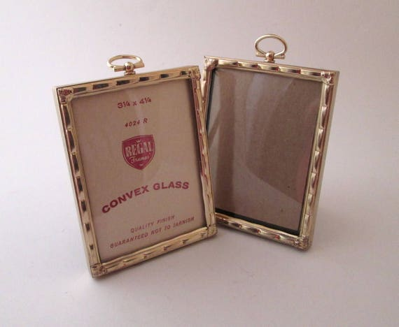 photo frame set vintage bubble glass frame mini picture frames 3x4 picture frame gold photo frame convex glass small photo frames from thebeadsource - Mini Gold Frames