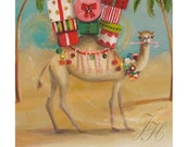 The Christmas Camel Preferred A More Temperate Climate.