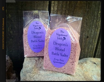 dragon's blood bath salts