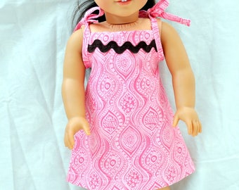 "18"" Doll /Tank Dress for American Girl Dolls, Journey Girls and Mapalea"