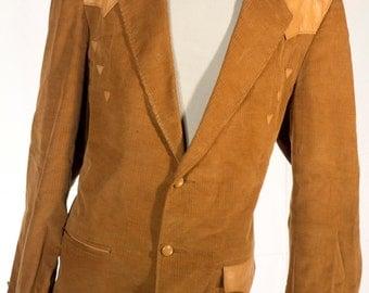 Men's Overcoat / Vintage Christian Dior Khaki Jacket / Size 50 Large/XL #4008