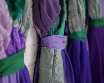 Thicker Straps -- Individual Final Payments for Chelcie Brown's Custom Bridesmaids Dresses