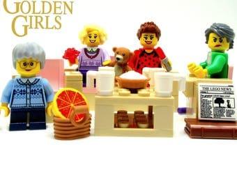 GOLDEN GIRLS® Custom Figure SET + 13 Accessories & Furniture -- Fan Art!