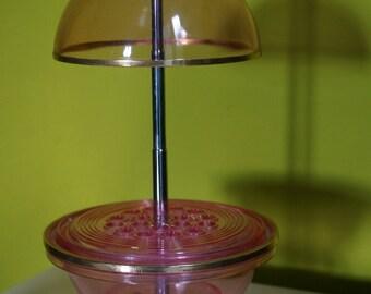 vintage space age cigarette holder pink atomic sputnik kitsch