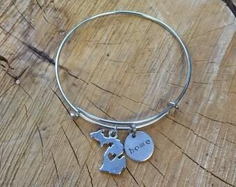 The Margie Bracelet - Michigan Home Bracelet
