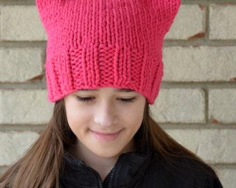 Kids Pink Pussy Hat