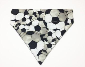 Pet Accessory - Soccer Balls - Over the Collar - Custom - Bandana, Bow Tie, Neck Tie, Flower