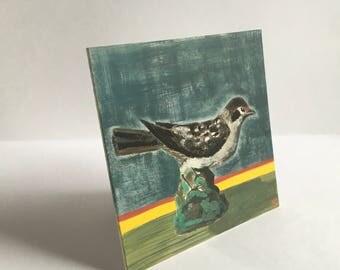 Tree sparrow figure