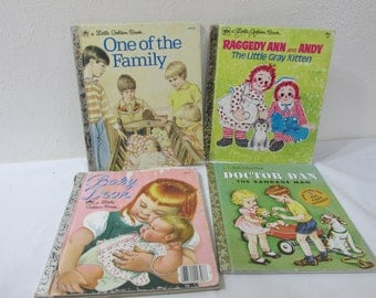 Little Golden Books Set of 4 Read to Your Toddlers