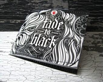 Left Hand Fade to Black Beer Wallet